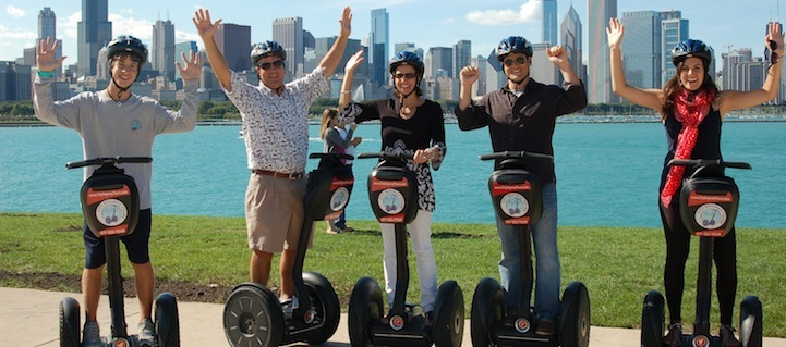 Take a Segway tour of local attractions.