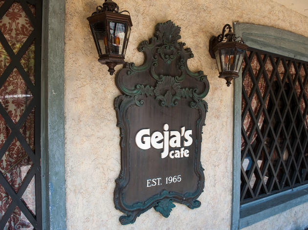 National Cheese Fondue Week at Geja's Café