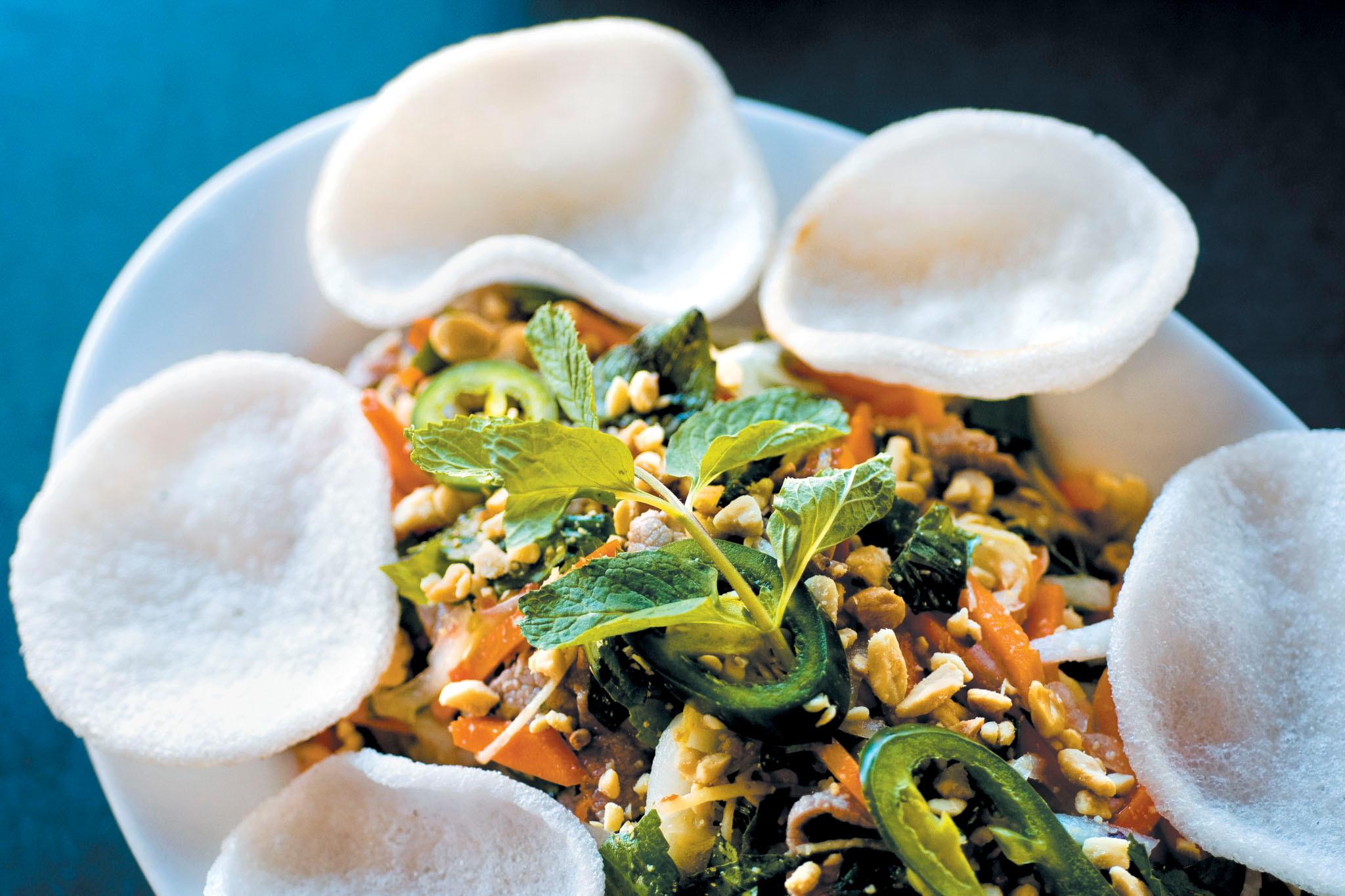 Explore pan-Asian cuisine on Argyle Street
