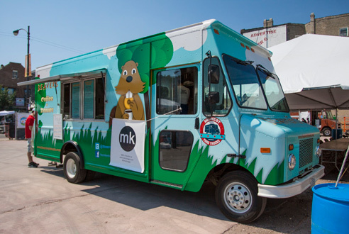 2013: Food trucks to serve at the Taste of Chicago