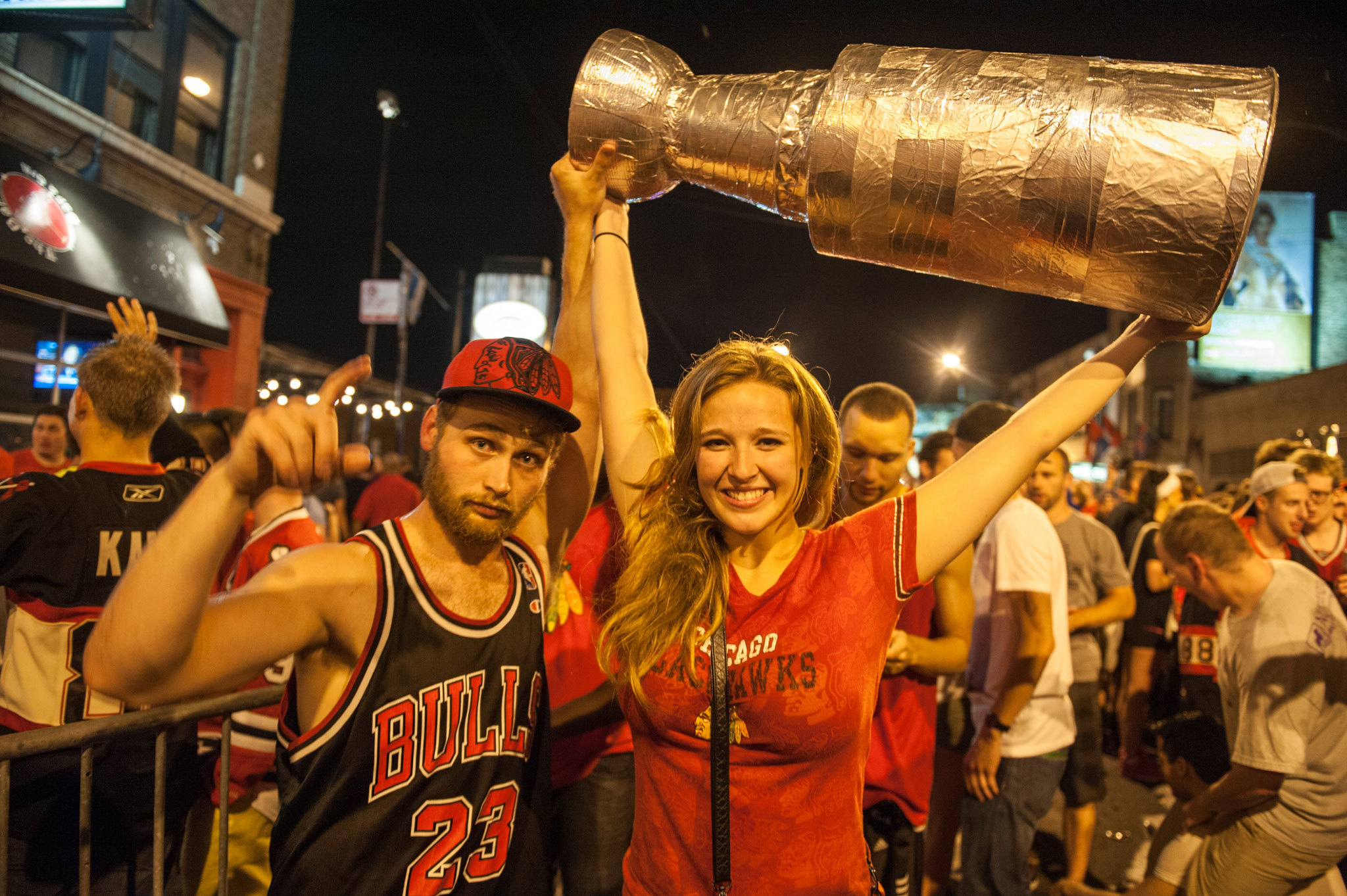 Stanley Cup celebration