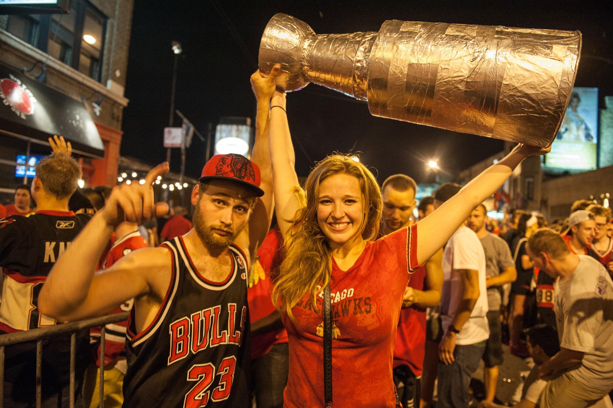 Stanley Cup Celebration 2013