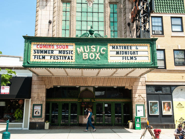 Watch a movie at the Music Box Theatre (or at home)