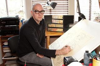 Daniel Clowes book signing