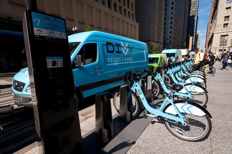 Ride a Divvy bike