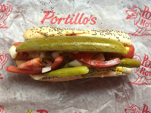 Portillo S Restaurants Hot Dogs River North