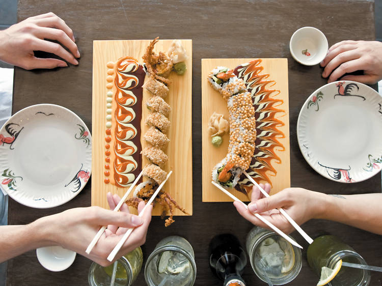 The best sushi in Chicago
