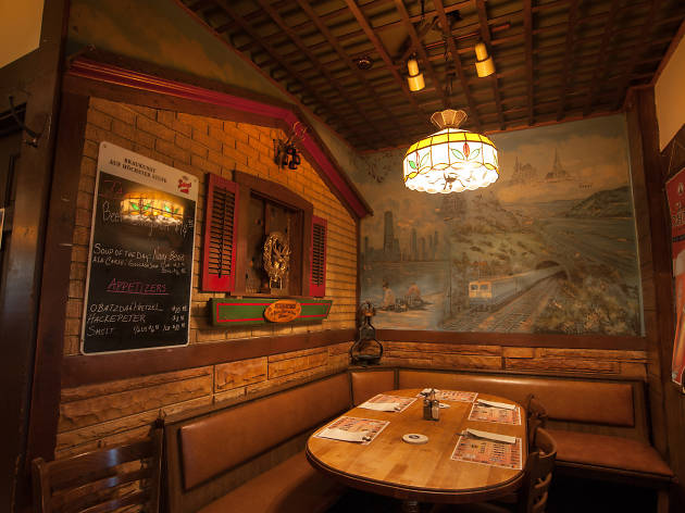 Laschet's Inn is one of the best spots for German food in Chicago.