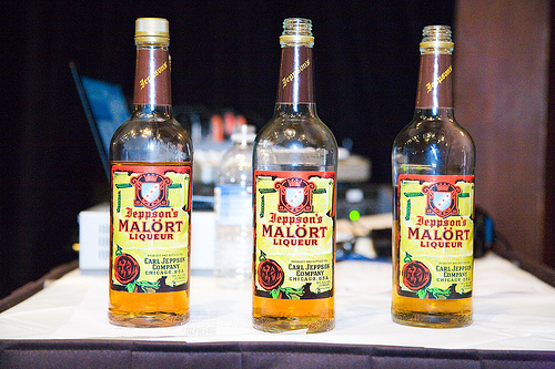 Take a shot of Jeppson's Malört.