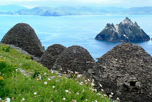 Ireland's countryside and coast