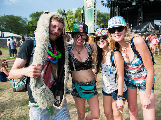 North Coast Music Festival 2013, Friday: Crazy costumes we saw