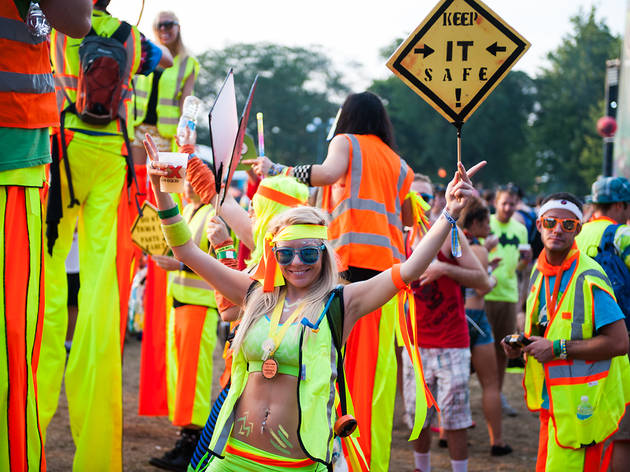 North Coast Music Festival 2013, Sunday: Crazy costumes we saw
