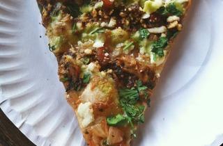 Malort pizza