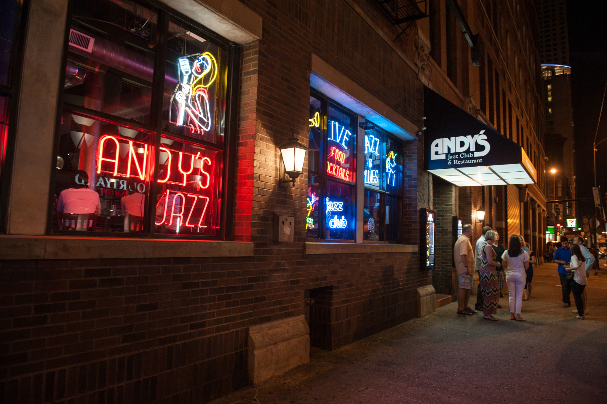 Andy's Jazz Club & Restaurant | Clubs in River North, Chicago