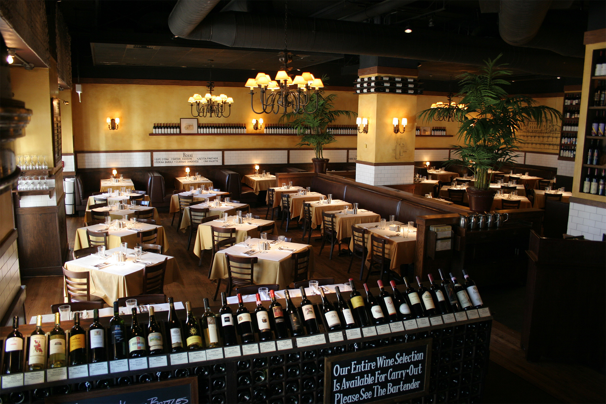 Antico Posto Restaurants In Suburbs Oak Brook