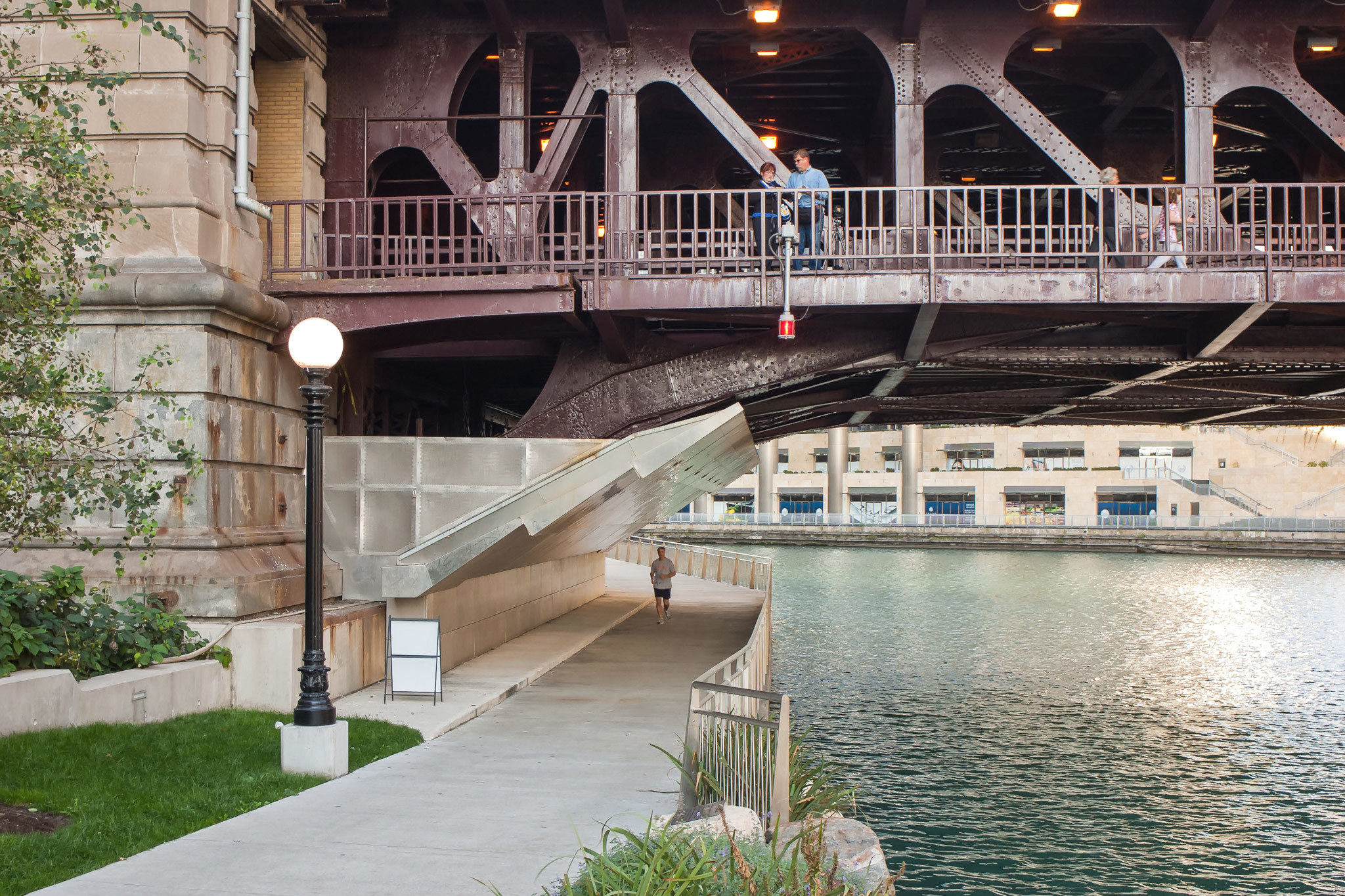 Take a stroll on the Riverwalk