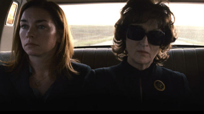 Julianne Nicholson and Meryl Streep in August: Osage County