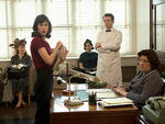 Lizzy Caplan and Michael Sheen star in Masters of Sex on Showtime