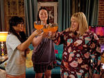 Liza Lapira, Lauren Ash and Rebel Wilson star in Super Fun Night on ABC