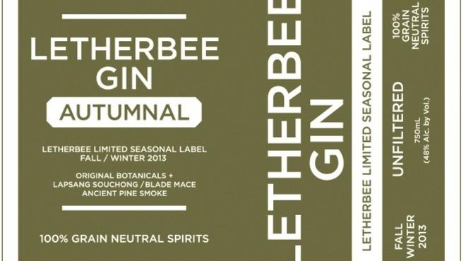 Letherbee releases its new Autumnal Gin at the Whistler next week.
