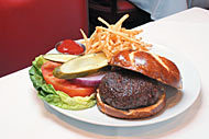 Rosebud Burger at Rosebud Steakhouse