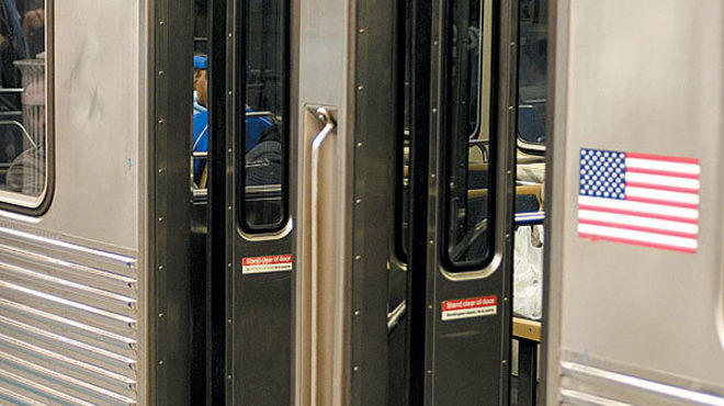 Cta Says Goodbye To Trains With Fold In Accordion Doors On