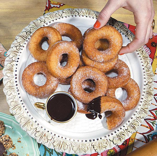 HotChocolate's brioche doughnuts recipe