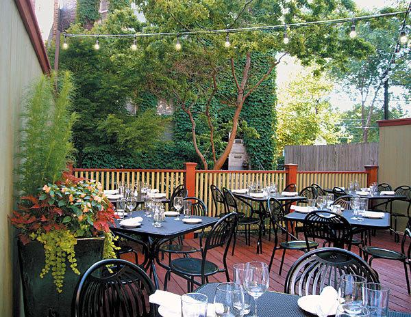 Hidden outdoor eateries