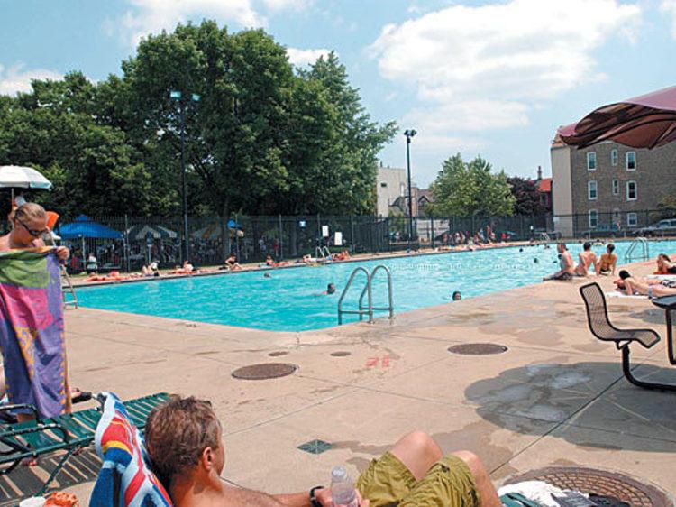 Take a dip in a pool