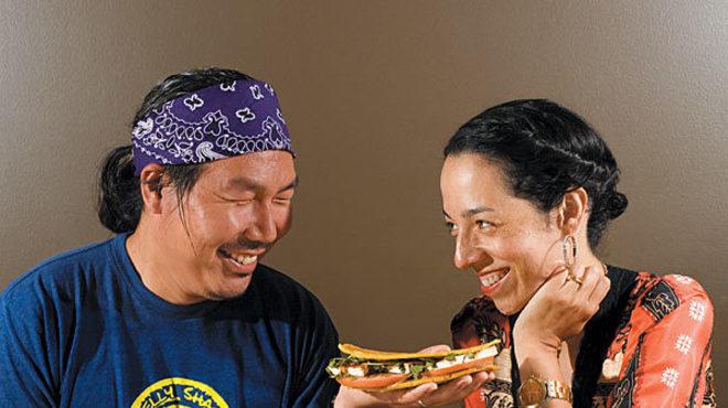 Bill Kim and Yvonne Cadiz-Kim