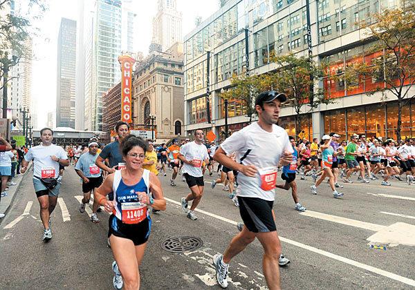 Marathon spotting