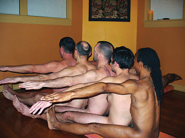 aaron star naked yoga