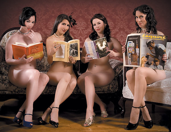 Naked Girls Reading | A very naked Christmas Carol