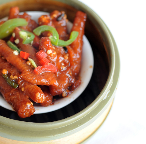 Chicken feet with homemade sause at the Phoenix Restaurant at 2131 S. Archer in Chicago's Chinatown neighborhood