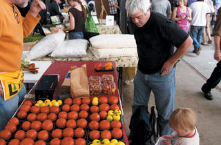 Farmers Market at the Chicago Botanic Garden
