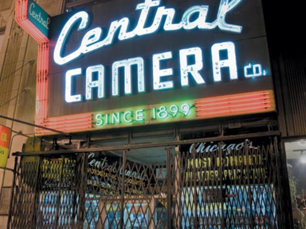 Camera shop: Central Camera Co.