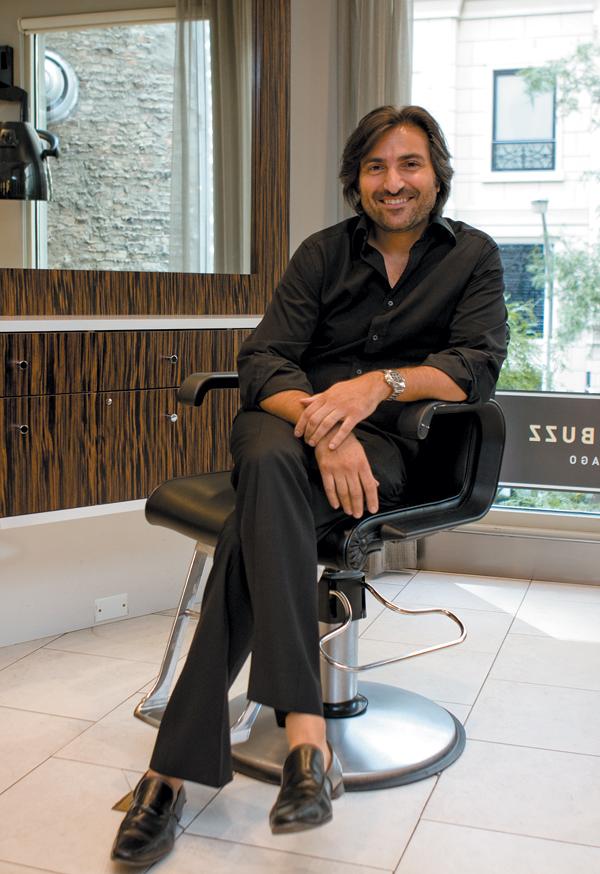 Andreas Zafiriadis At Salon Buzz