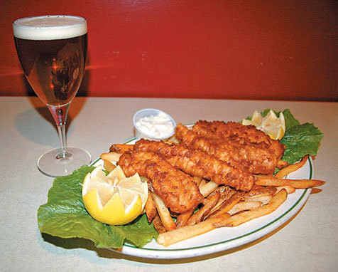 $8 fish and chips at Emmit's Irish Pub, Fridays