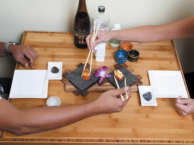 Sushi Class at Arami