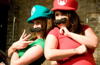 Boobs & Goombas: A Super Mario Burlesque opening night at Gorilla Tango Theater