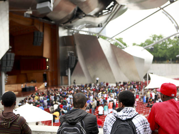 See free gigs in Millennium Park