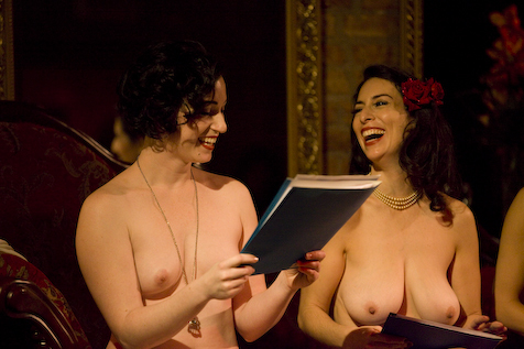 Naked Girls Reading at Studio L'Amour