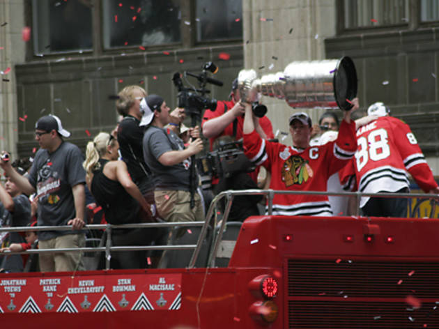 Stanley Cup victory parade and rally photos