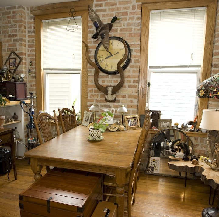 Humboldt Park apartment decked in steampunk style