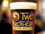 Beer from Two Brothers Brewing Company