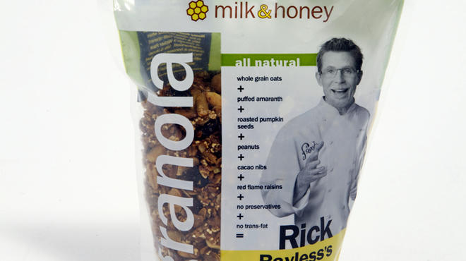 Rick Bayless's Mexican Mix granola