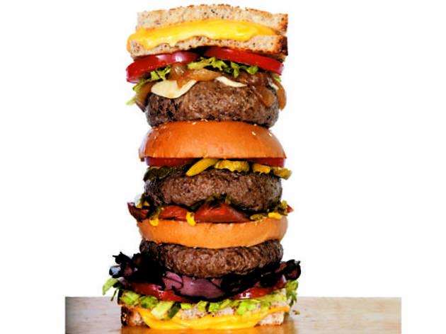 The crazy burger craze