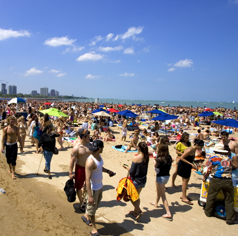 Memorial Day 2011 at North Ave Beach