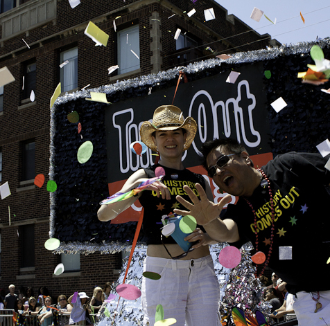 Photos from the 2011 Chicago Pride Parade