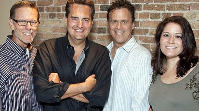 WLS afternoon team: Jim Johnson, Roe Conn, Richard Roeper and Christina Filiaggi
